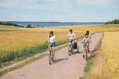 Cykling på Ven