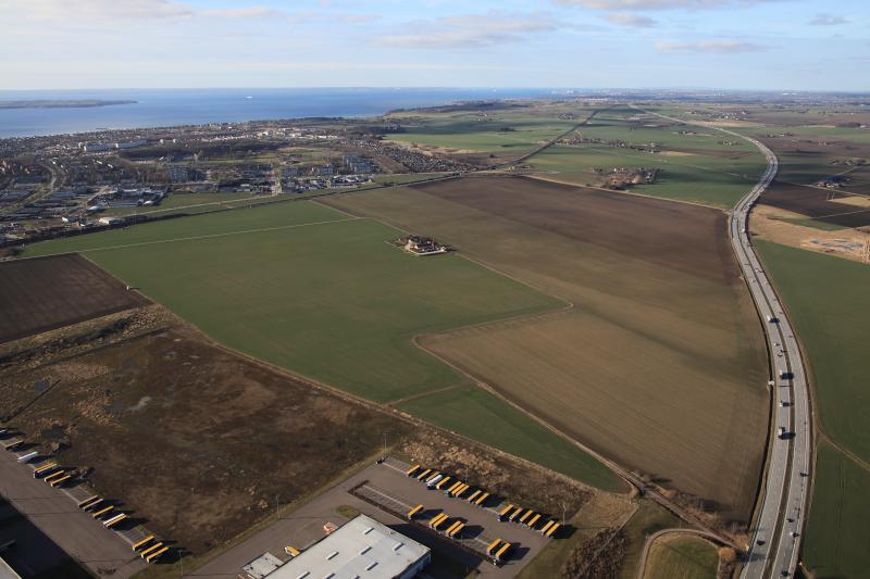 Flygbild Landskrona